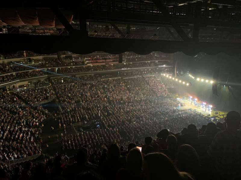 Vista sentada para Wells Fargo Arena Secção 306 Fila Q Lugar 5