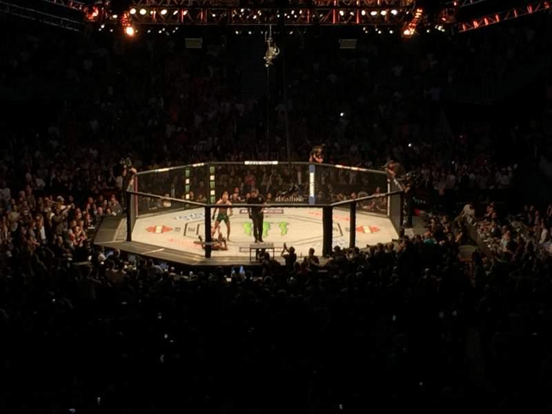 Vista sentada para T-Mobile Arena Secção 10 Fila Z Lugar 27