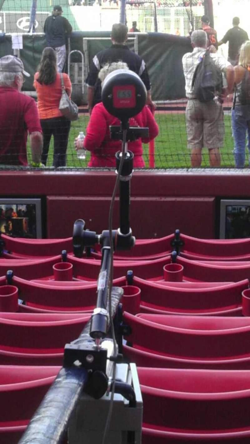 Vista sentada para Fenway Park Secção Field Box 43 Fila e Lugar 6