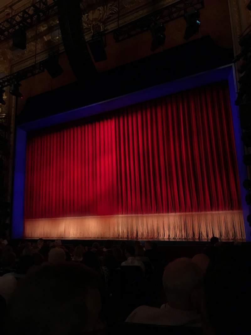 Vista sentada para Longacre Theatre Secção Orchestra R Fila L Lugar 3