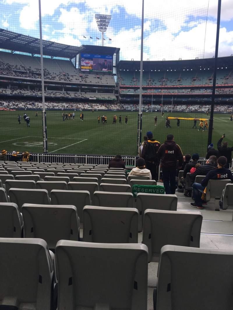 Vista sentada para Melbourne Cricket Ground Secção M32 Fila O Lugar 2