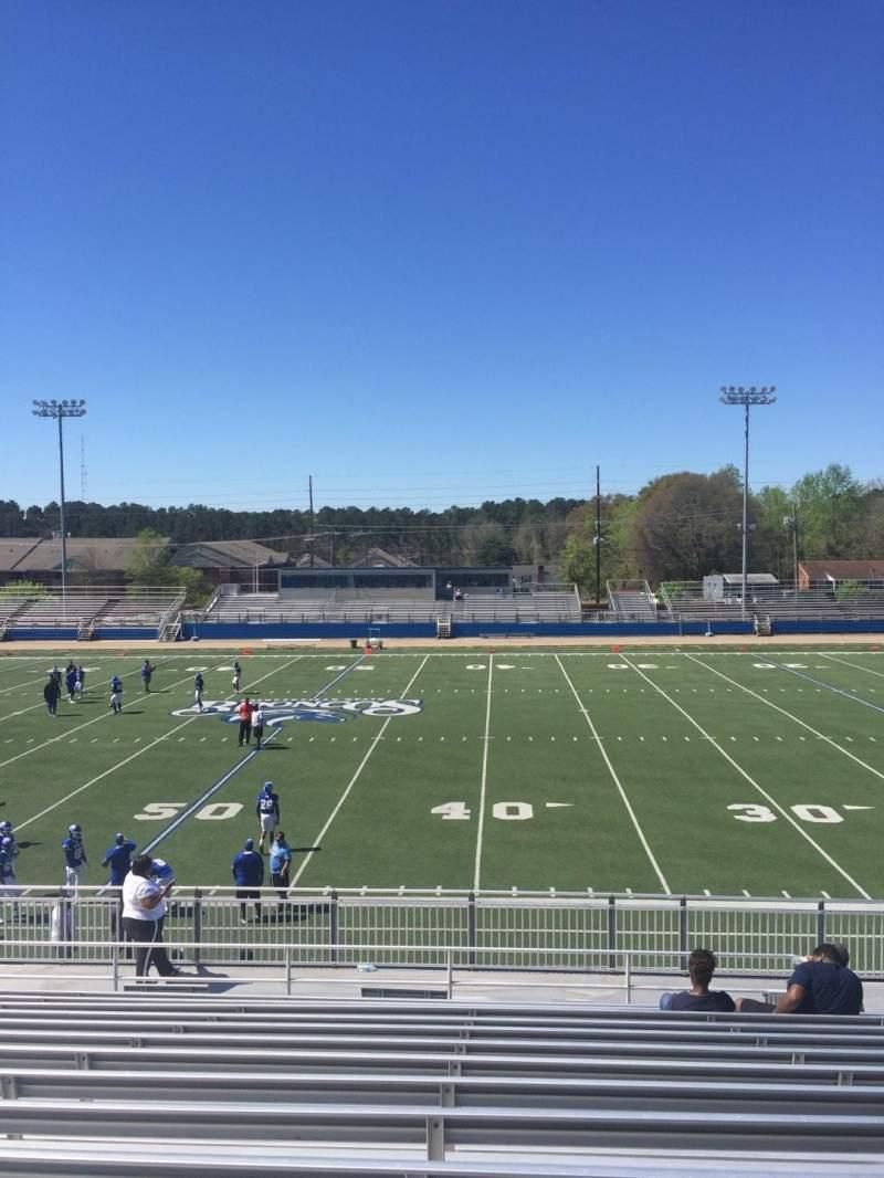 Vista sentada para Luther Nick Jeralds Stadium Secção 104 Fila T Lugar 11