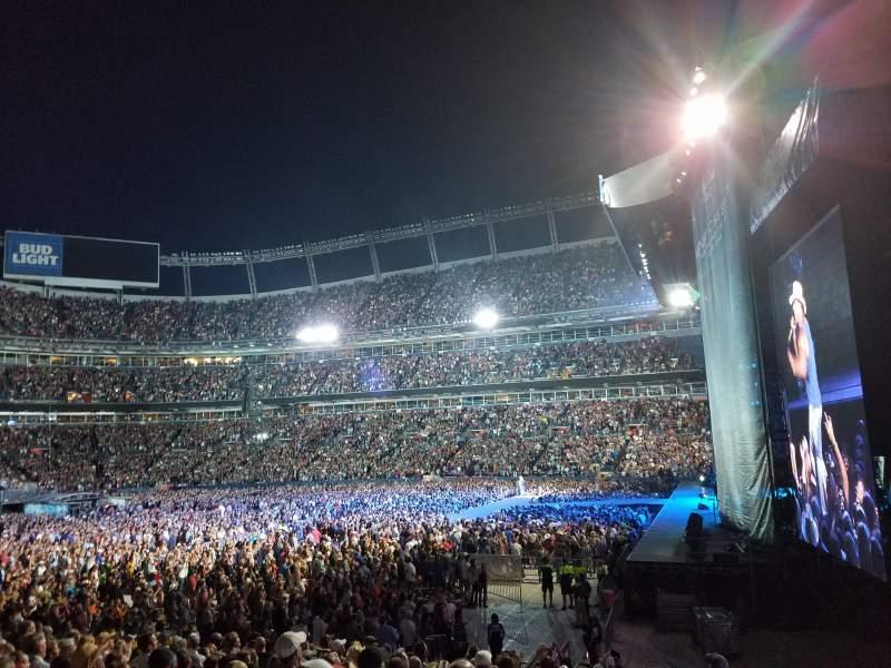 Vista sentada para Broncos Stadium at Mile High Secção 103 Fila 17 Lugar 1