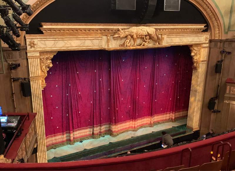 Vista sentada para Booth Theatre Secção Mezzanine L Fila G Lugar 17