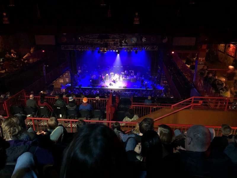 Vista sentada para House Of Blues - Boston Secção Stadiun Fila F Lugar 305
