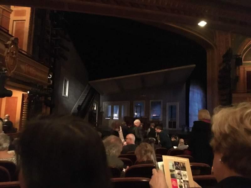 Vista sentada para American Airlines Theatre Secção Orchestra L Fila M Lugar 9