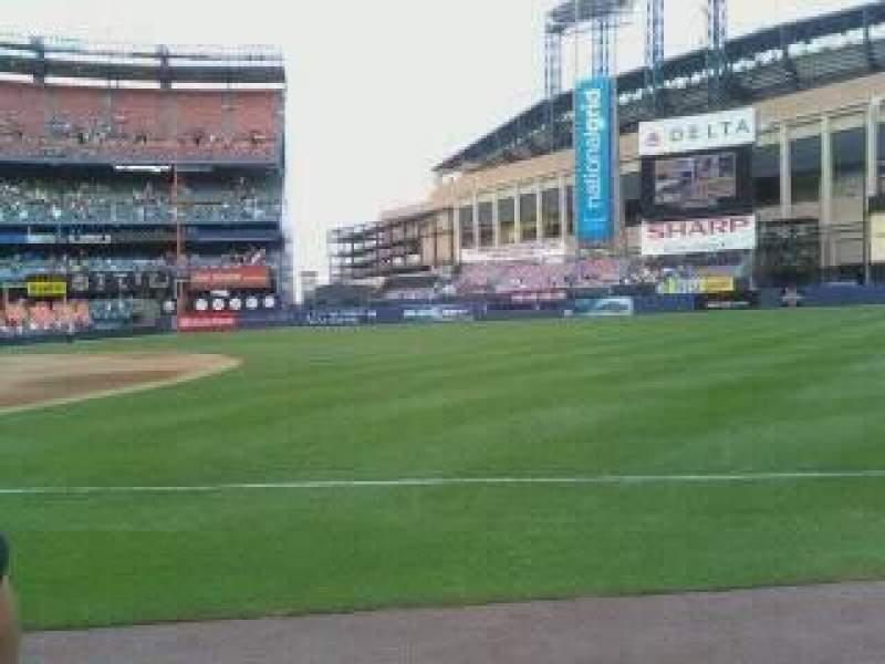 Vista sentada para Shea StadiumFila 10 Lugar 6