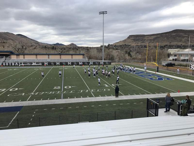 Vista sentada para Marv Kay Stadium Secção 101 Fila N Lugar 11
