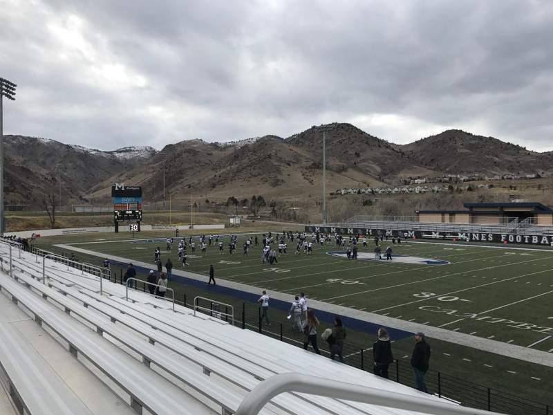 Vista sentada para Marv Kay Stadium Secção 100 Fila N Lugar 1