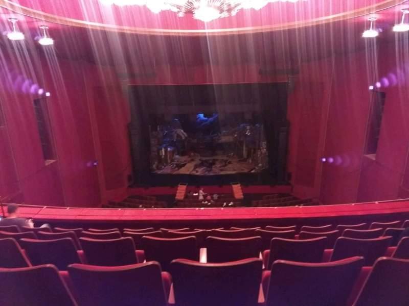Vista sentada para The Kennedy Center Opera House Secção Tier 2 Fila F Lugar 209