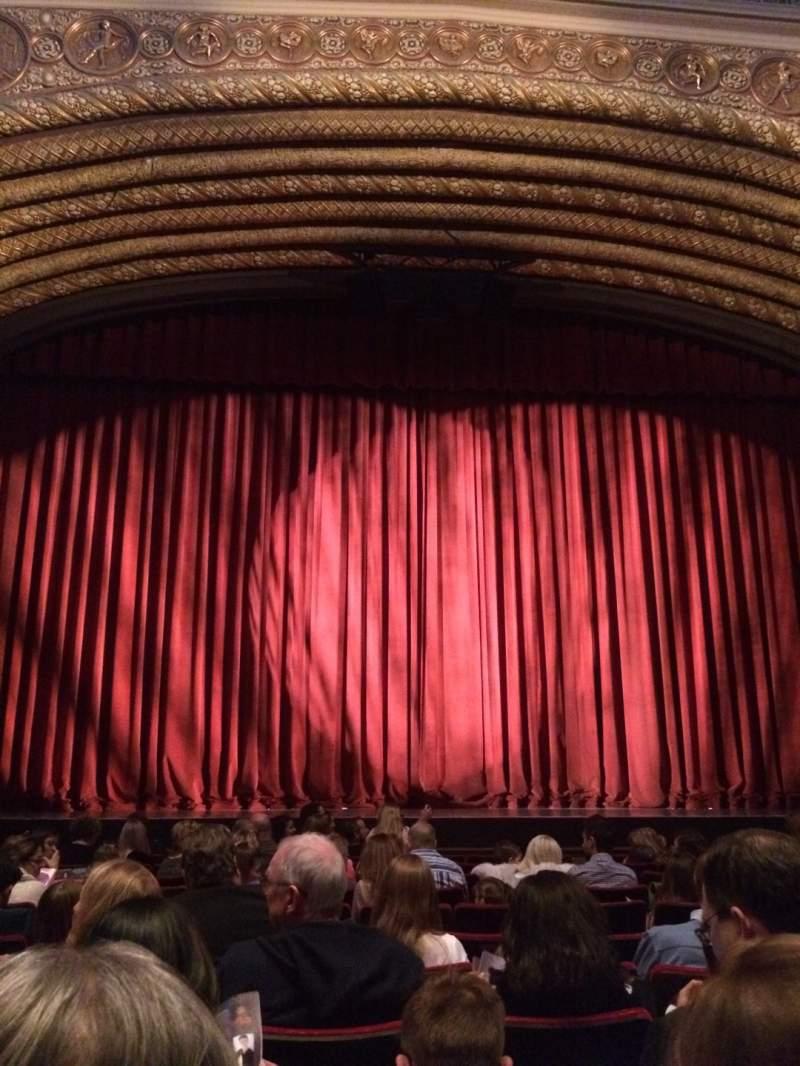 Vista sentada para Orpheum Theatre (Phoenix) Secção A Fila 11 Lugar 13