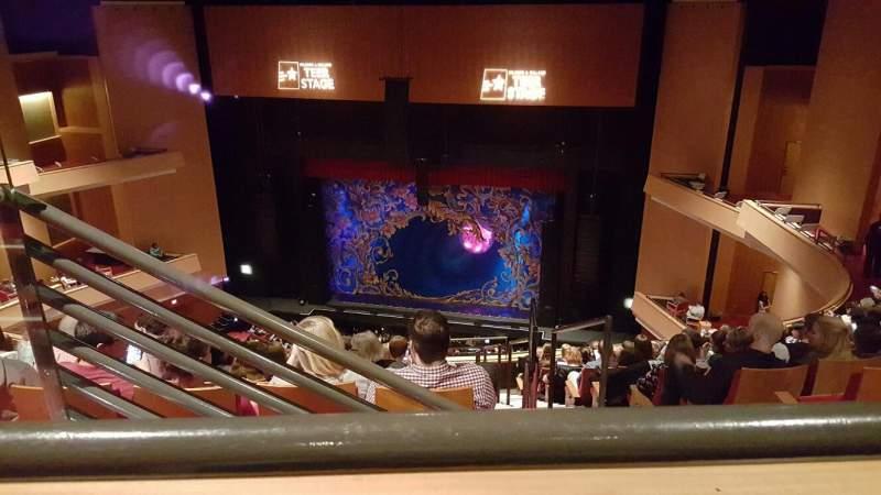 Vista sentada para Durham Performing Arts Center Secção Balcony 10 Fila K Lugar 203
