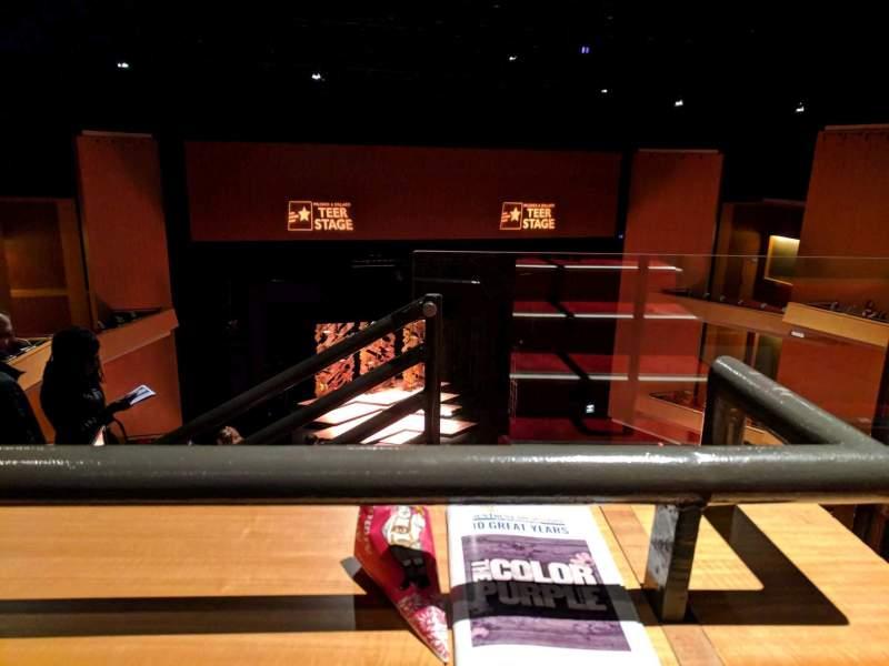 Vista sentada para Durham Performing Arts Center Secção Balcony 8 Fila K  Lugar 301