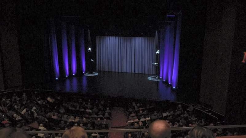 Vista sentada para Théâtre du Casino Lac-Leamy Secção Balcony Fila B Lugar 20