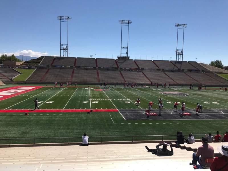 Vista sentada para Dreamstyle Stadium Secção G Fila 22 Lugar 12
