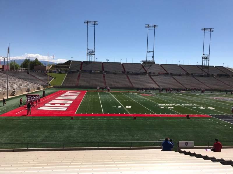 Vista sentada para Dreamstyle Stadium Secção H Fila 22 Lugar 12