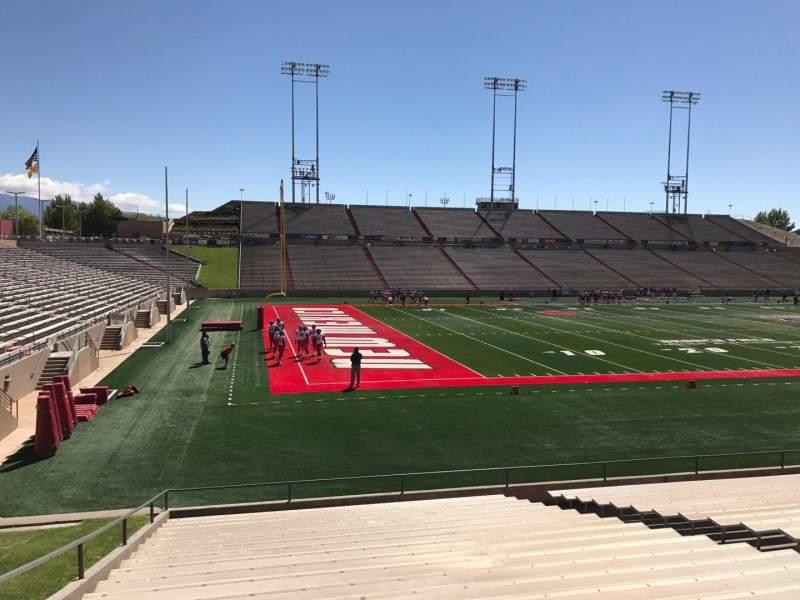 Vista sentada para Dreamstyle Stadium Secção I Fila 22 Lugar 12
