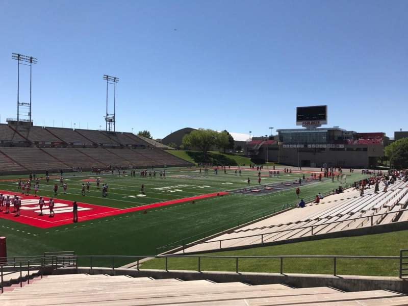 Vista sentada para Dreamstyle Stadium Secção NA Fila 22 Lugar 12