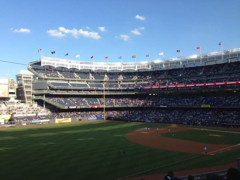 Vista sentada para Yankee Stadium Secção 229 Fila 7 Lugar 13