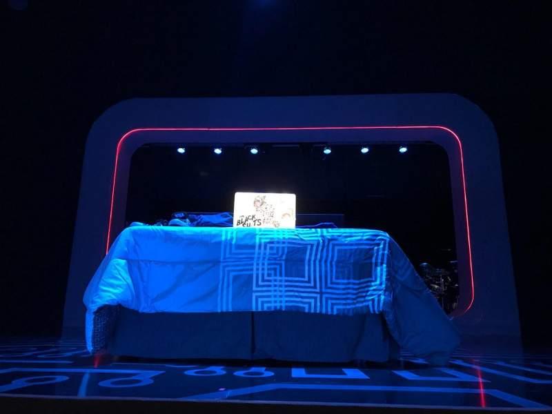 Vista sentada para The Irene Diamond Stage At The Pershing Square Signature Center Secção ORCC Fila A Lugar 111 And 112