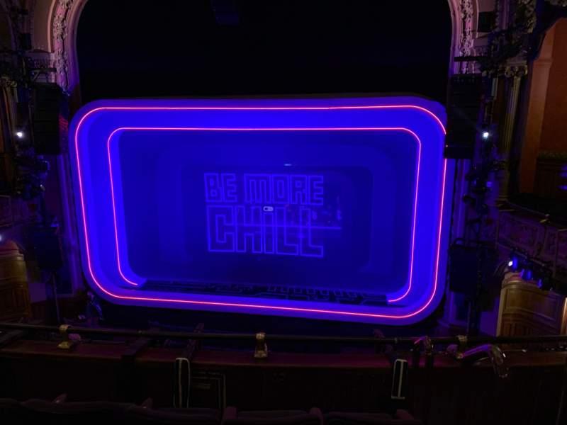 Vista sentada para Lyceum Theatre (Broadway) Secção Mezzanine C Fila D Lugar 101 & 102