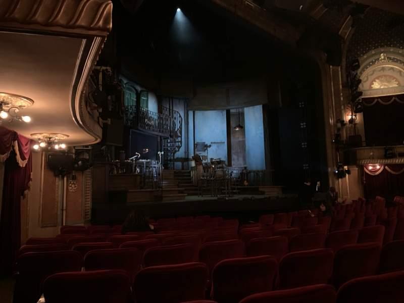 Vista sentada para Walter Kerr Theatre Secção Orchestra L Fila M Lugar 19 And 21