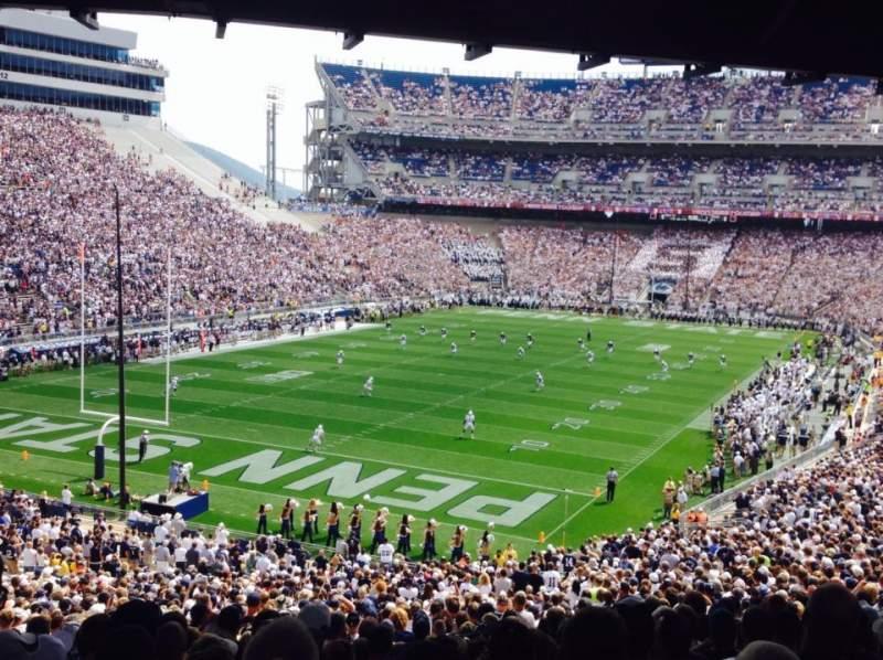 Vista sentada para Beaver Stadium Secção NC Fila 59 Lugar 12