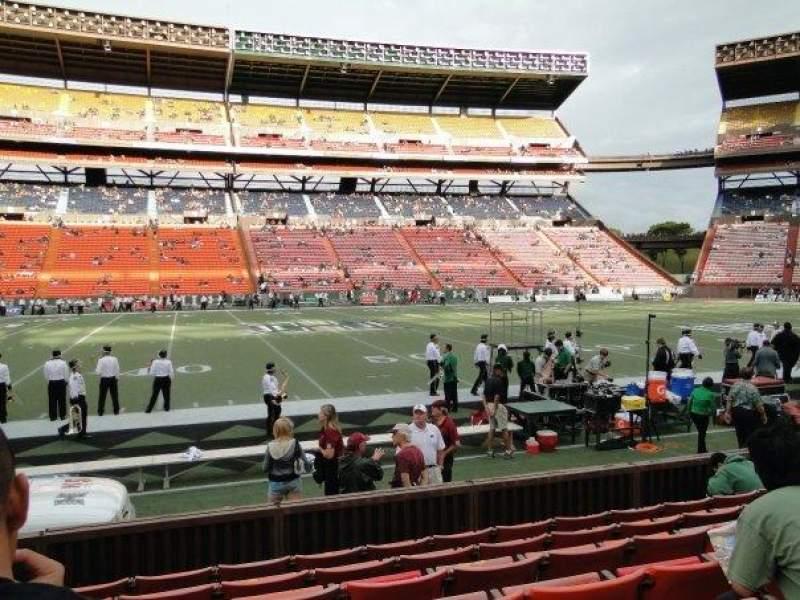 Vista sentada para Aloha Stadium Secção L Fila 7 Lugar 14