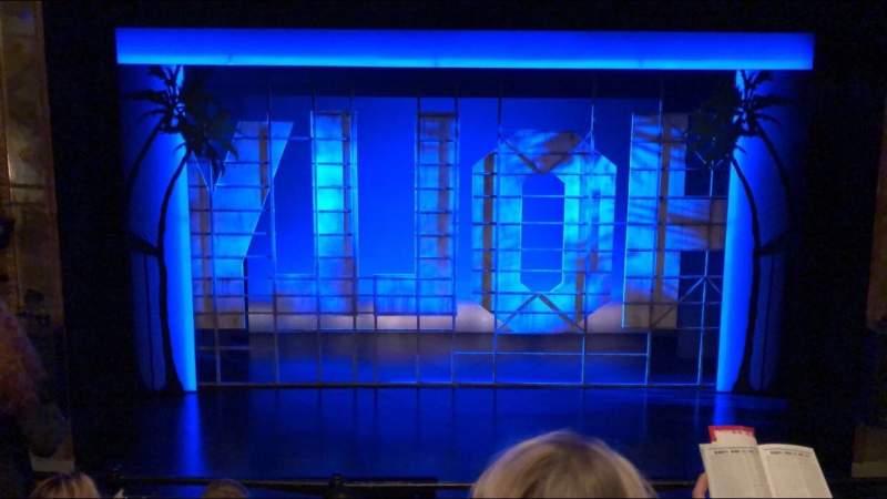 Vista sentada para Nederlander Theatre Secção Mezzanine C Fila D Lugar 108