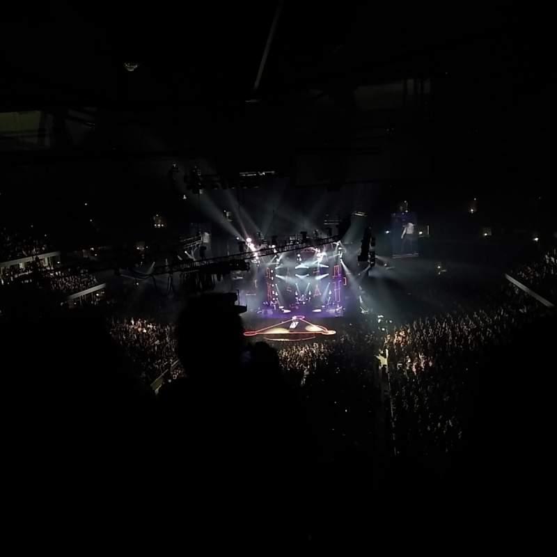 Vista sentada para Honda Center Secção 433 Fila M Lugar 7, 8, 9, 10
