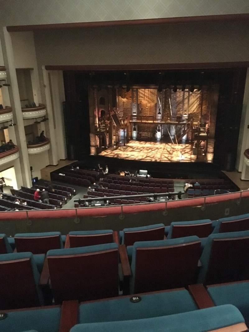 Vista sentada para Bloomington Center For The Performing Arts Secção MezzRt Fila D Lugar 115