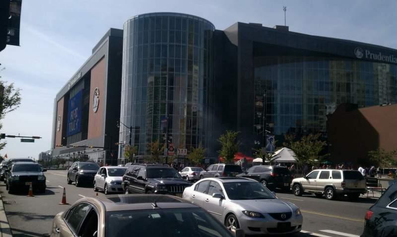 Vista sentada para Prudential Center Secção Investors Bank Tower