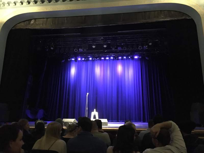 Vista sentada para Danforth Music Hall Secção ORCH1 Fila F Lugar 21