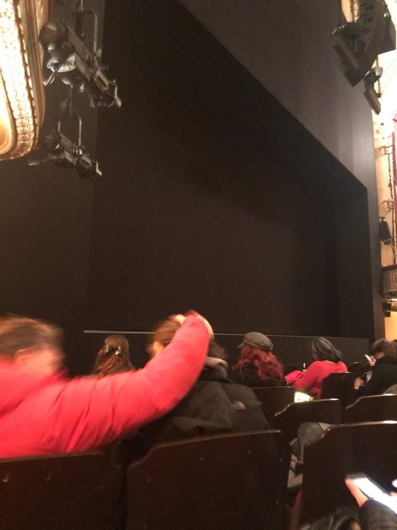 Vista sentada para Bernard B. Jacobs Theatre Secção Orchestra L Fila F Lugar 13