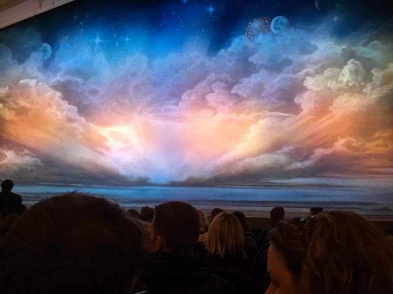 Vista sentada para Eugene O'Neill Theatre Secção Orchestra C Fila G Lugar 103
