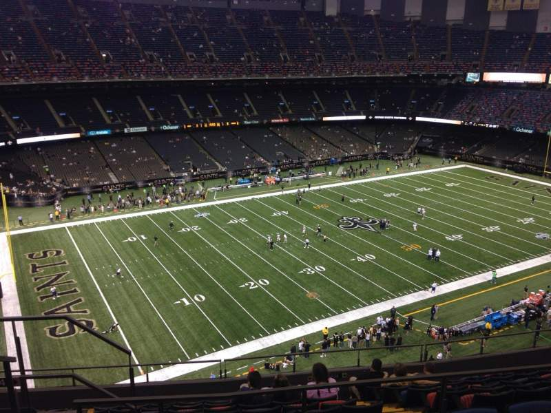Mercedes Benz Superdome, Secção 619, Fila 11, Lugar 11   New Orleans Saints  Vs New England Patriots, Partilhado Por Mcochran