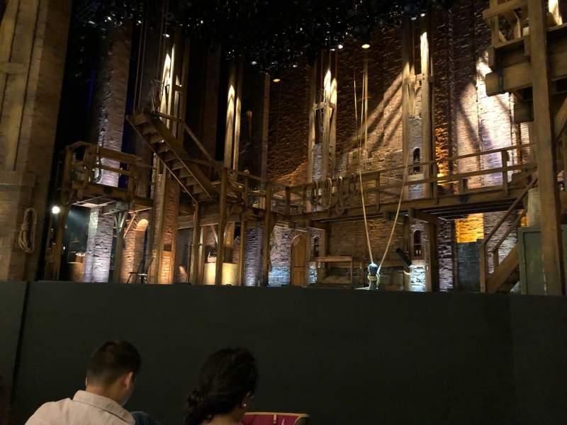 Vista sentada para CIBC Theatre Secção Orchestra R Fila D Lugar 10