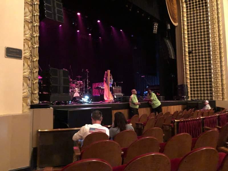 Vista sentada para Pabst Theater Secção LT Fila E Lugar 1