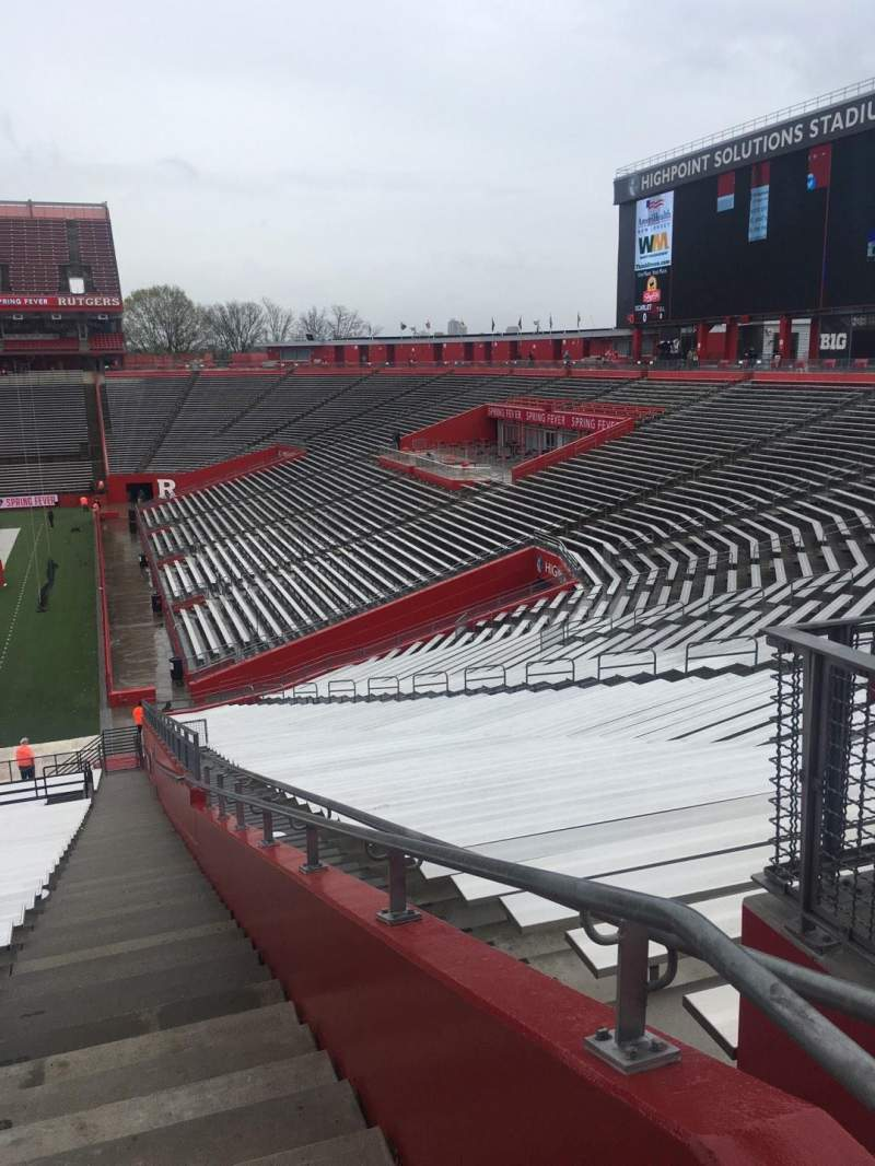 Vista sentada para SHI Stadium Secção 101 Fila 30
