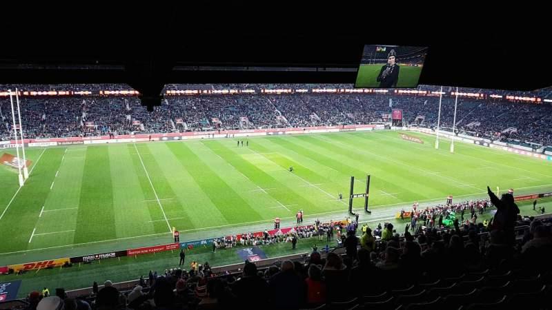 Vista sentada para Twickenham Stadium Secção M10 Fila 75 Lugar 252