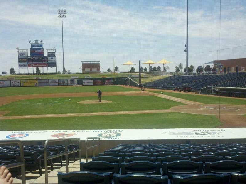 Vista sentada para Momentum Bank Ballpark Secção 7 Fila O Lugar 2