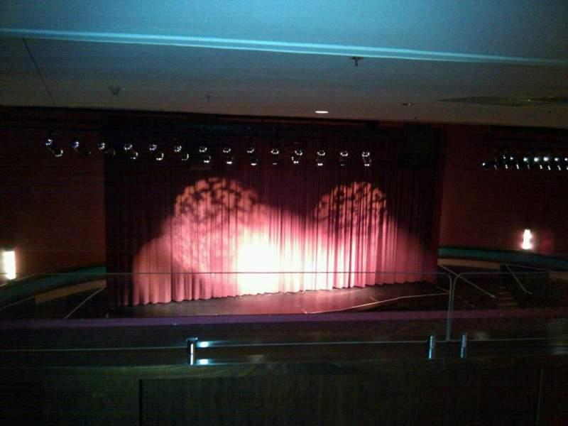 Vista sentada para Landis Theater Secção Mezzanine Fila aa Lugar 11