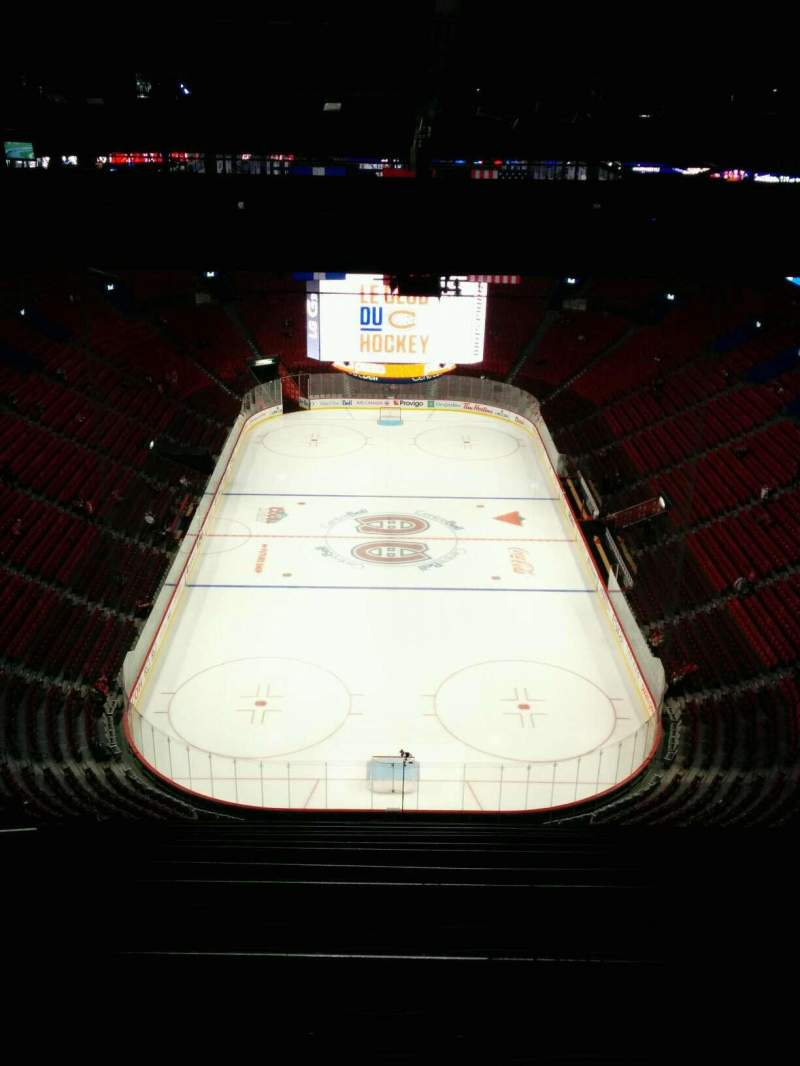 Vista sentada para Centre Bell Secção 410 Fila C Lugar 8