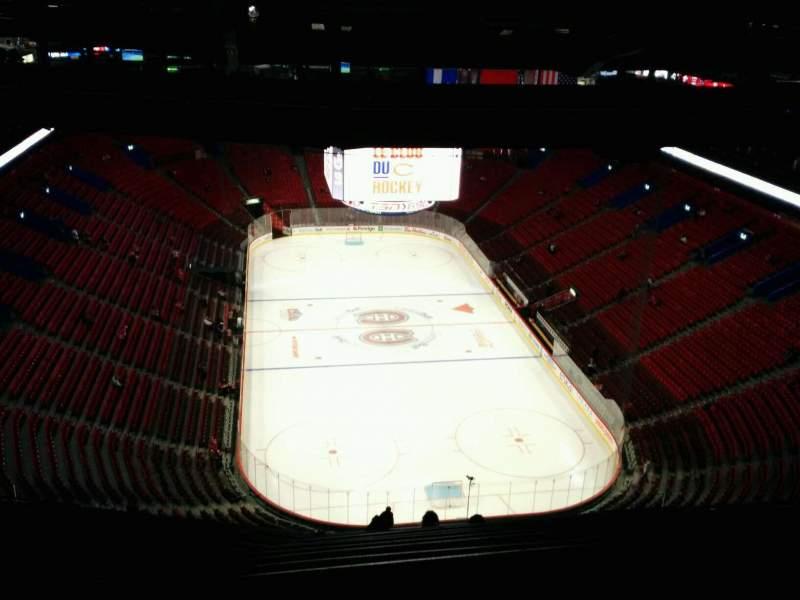 Vista sentada para Centre Bell Secção 411 Fila D Lugar 13