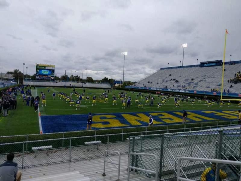 Vista sentada para Delaware Stadium Secção hh Fila l Lugar 4
