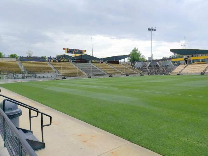 Vista sentada para Fifth Third Bank Stadium Secção 125 Fila a Lugar 7