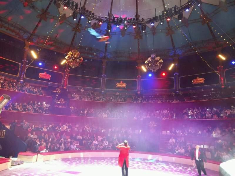 Vista sentada para Cirque d'hiver Secção loge 16