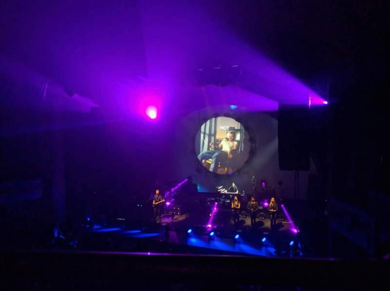Vista sentada para Merriam Theater Secção bancony r Fila a Lugar 12