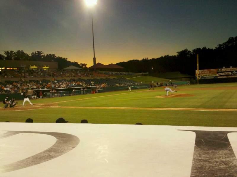Vista sentada para Prince George's Stadium Secção 113 Fila C Lugar 4