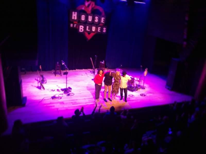 Vista sentada para House Of Blues - San Diego Secção BAL C Fila A Lugar 102